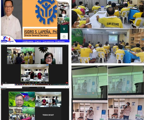 BCSAT Conducts First-Ever Online Training Skill to BJMP Baguio City Jail